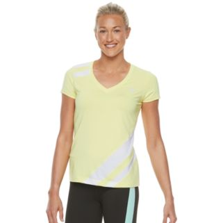 Women's FILA SPORT® Stripe Short Sleeve Tee