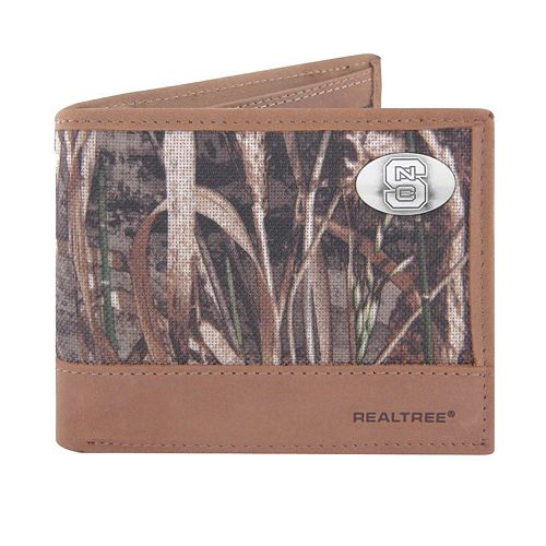 Realtree North Carolina State Wolfpack Pass Case Wallet