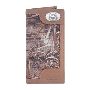 Realtree North Carolina State Wolfpack Secretary Wallet