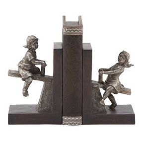 Seesaw Bookends 2-piece Set