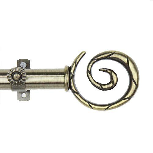 Rod Desyne Spiral Adjustable Curtain Rod