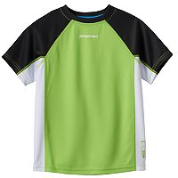 Boys 4-7 ZeroXposur Colorblock Rash Guard