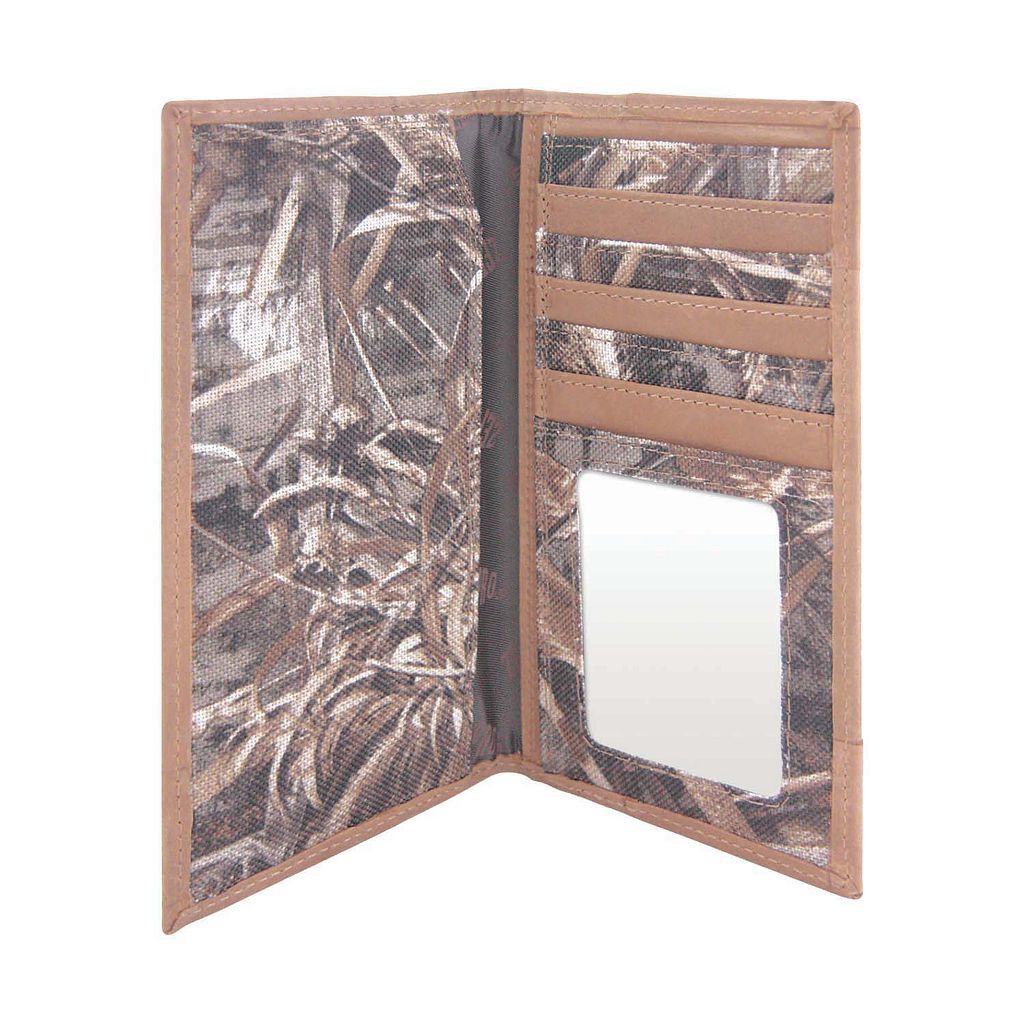 Realtree TCU Horned Frogs Secretary Wallet