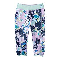 Girls 7-16 FILA SPORT® Contrast Printed Capri Leggings