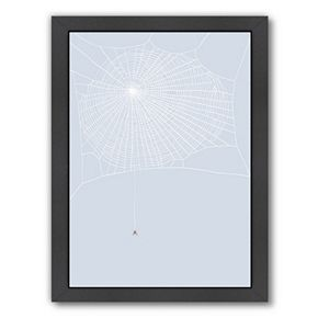 "Americanflat ""Spider and Web"" Framed Wall Art"