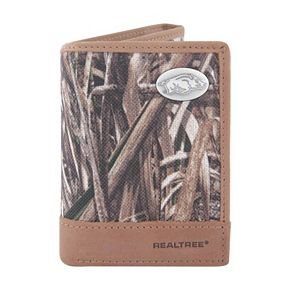 Realtree Arkansas Razorbacks Trifold Wallet