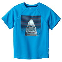 Boys 4-7 ZeroXposur Shark Rash Guard