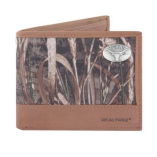 Realtree Texas Longhorns Pass Case Wallet
