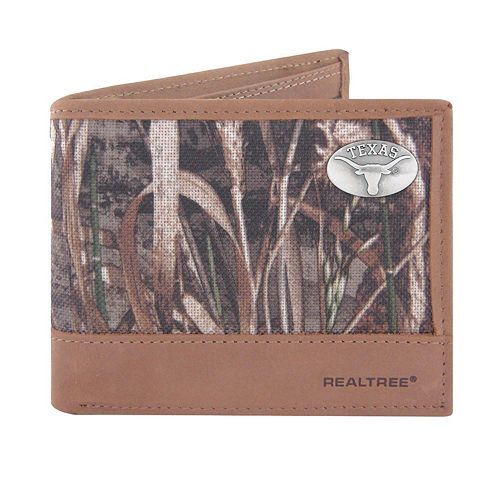 Realtree Texas Longhorns Pass Case Wallet