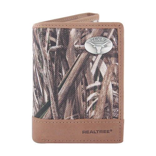 Realtree Texas Longhorns Trifold Wallet