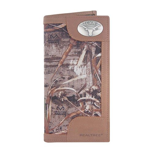 Realtree Texas Longhorns Secretary Wallet