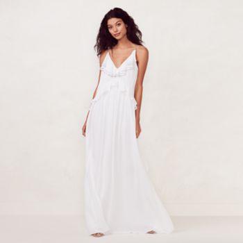 Women's LC Lauren Conrad Ruffle Maxi Dress