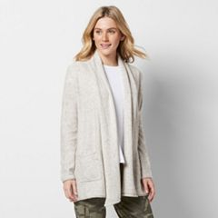Women's SONOMA Goods for Life™ Shawl Collar Cardigan