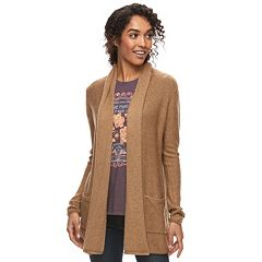 Womens Brown Cardigan Sweaters - Tops, Clothing | Kohl's