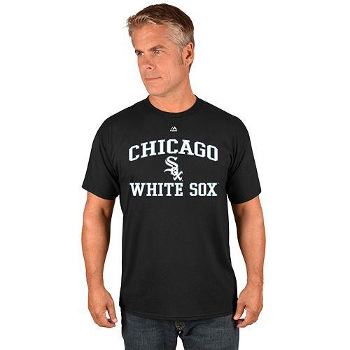 Men's Majestic Chicago White Sox Heart & Soul Tee