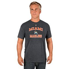 Men's Majestic Miami Marlins Heart & Soul Tee