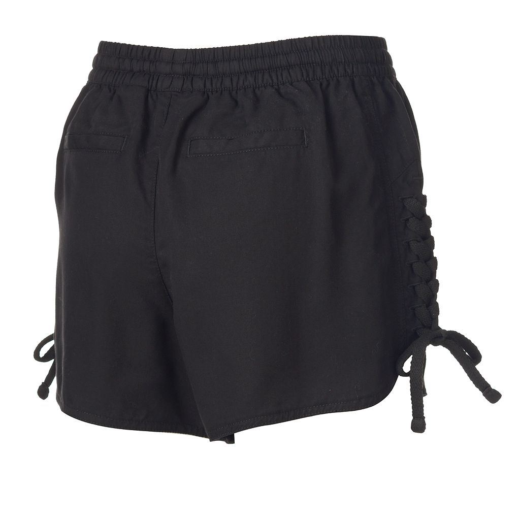 Women's Rock & Republic® Lace-Up Soft Shorts
