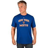 Men's Majestic New York Mets Heart & Soul Tee