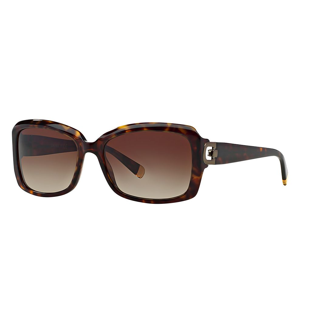 DKNY Glamour DY4073 55mm Square Gradient Sunglasses