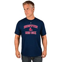 Men's Majestic Boston Red Sox Heart & Soul Tee
