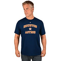 Men's Majestic Houston Astros Heart & Soul Tee