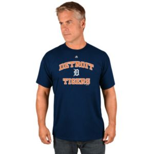 Men's Majestic Detroit Tigers Heart & Soul Tee
