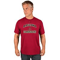 Men's Majestic Arizona Diamondbacks Heart & Soul Tee