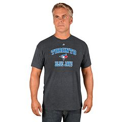 Men's Majestic Toronto Blue Jays Heart & Soul Tee