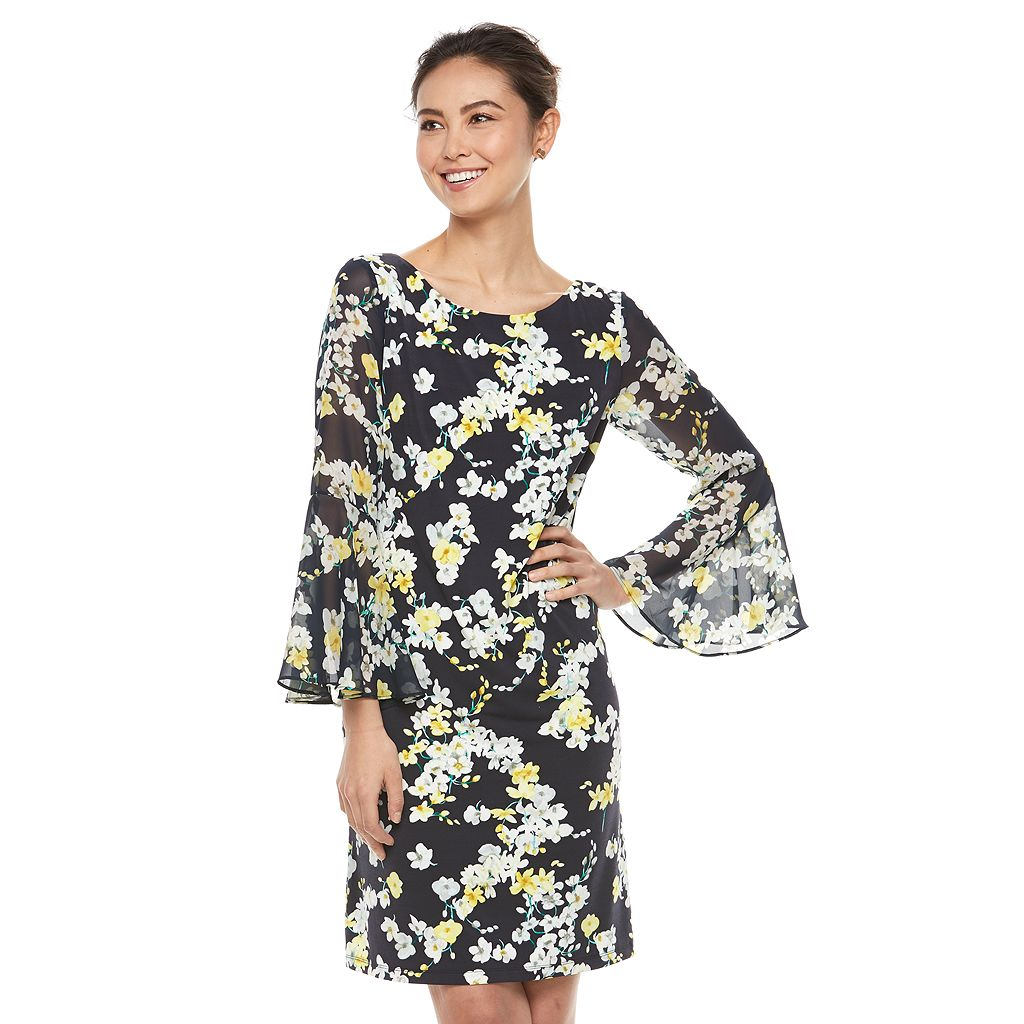 Women's Jessica Howard Floral Shift Dress