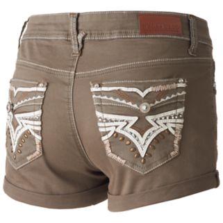 Juniors' Hydraulic Lola Ripped Shortie Shorts