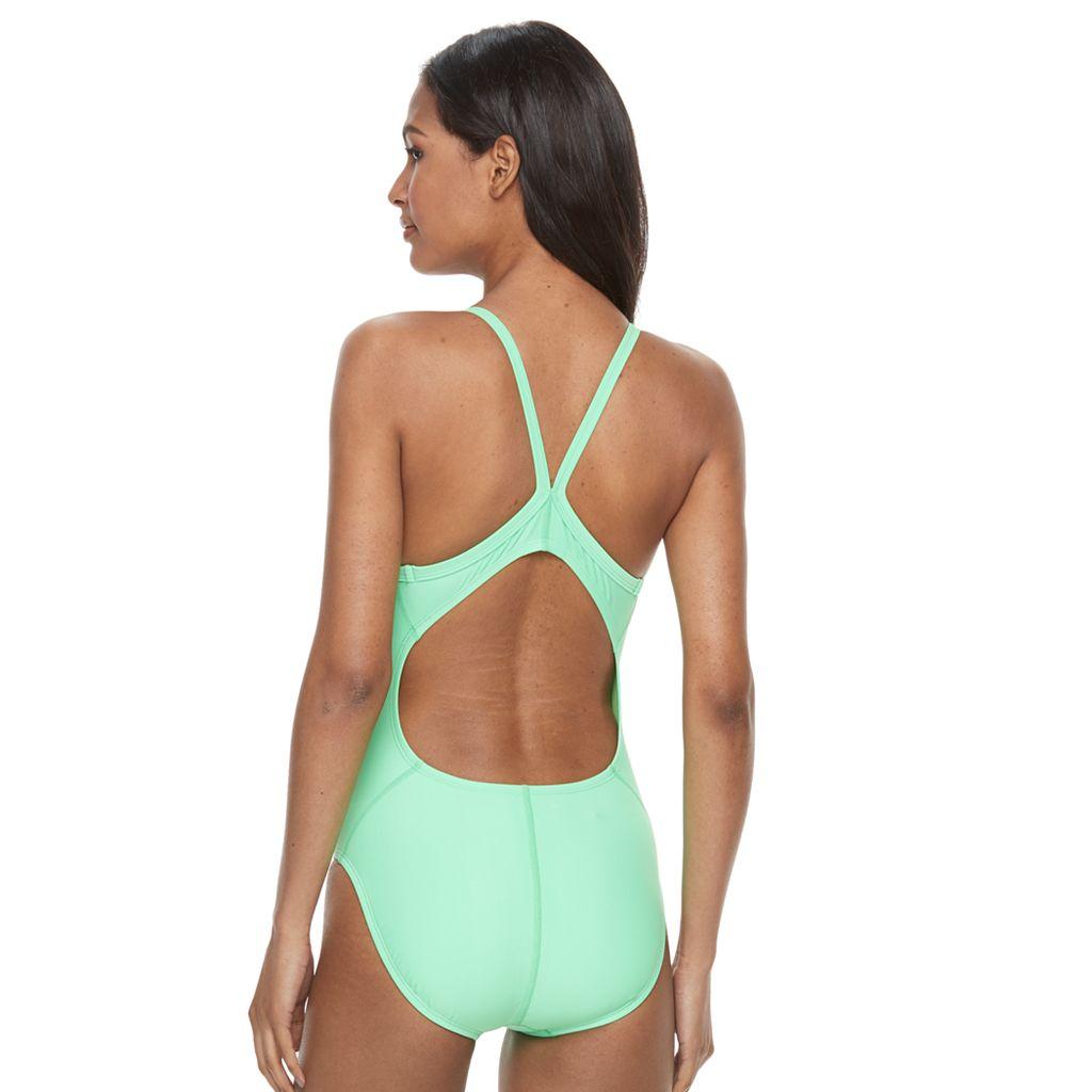 Women's Nike Core Solid Tank One-Piece Swimsuit