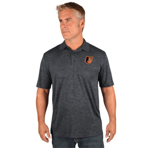 Men's Majestic Baltimore Orioles Hit First Polo