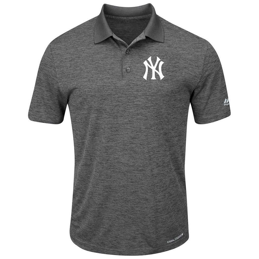Men's Majestic New York Yankees Hit First Polo