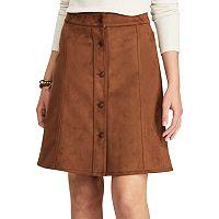 Petite Chaps A-Line Skirt