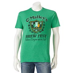 Men's 'O'Malley's Brew Fest' St. Patrick's Day Tee