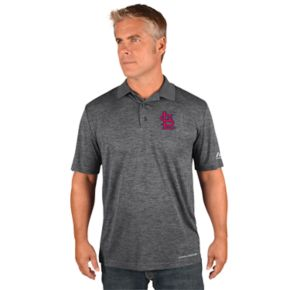 Men's Majestic St. Louis Cardinals Hit First Polo