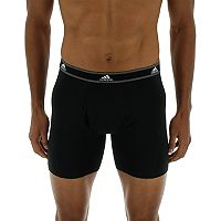 Men's adidas Relaxed Cotton Climalite 2-Pack Boxer Briefs