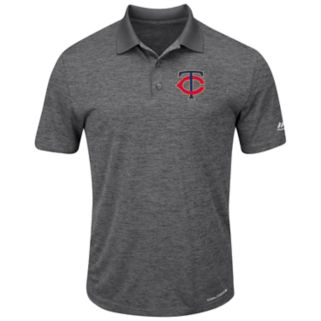 Men's Majestic Minnesota Twins Hit First Polo