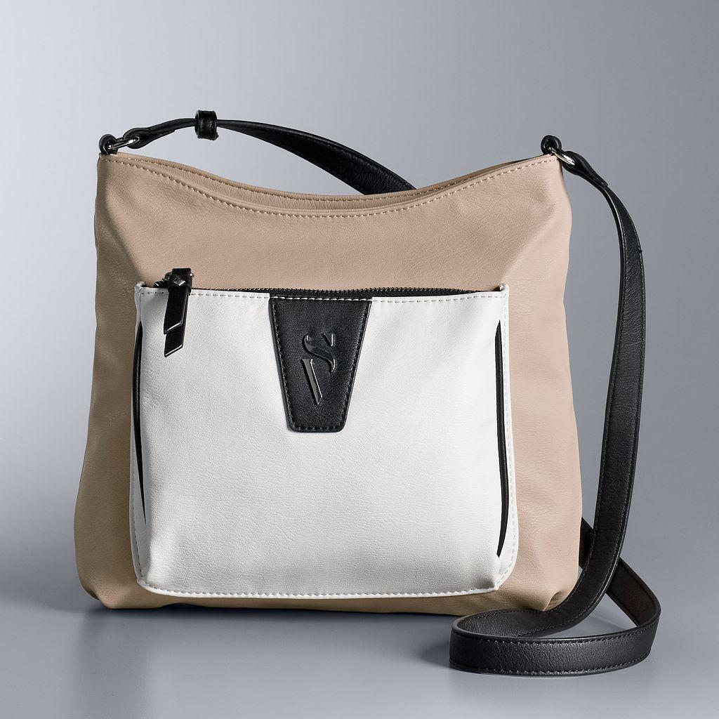 Simply Vera Wang Signature Crossbody Bag