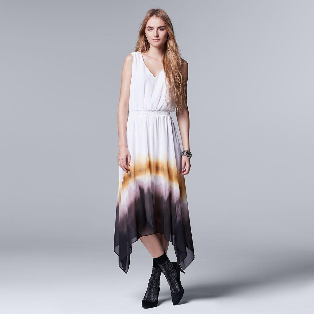 Women's Simply Vera Vera Wang Ombre Maxi Dress