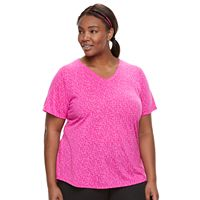 Plus Size Tek Gear® Burnout Tee