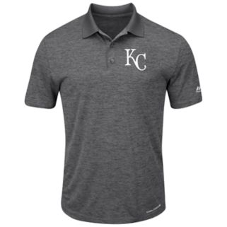 Men's Majestic Kansas City Royals Hit First Polo
