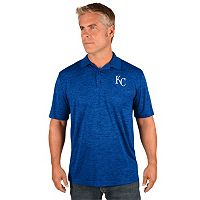 Men's Majestic Kansas City Royals Hit First Polo