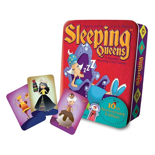 Ceaco Sleeping Queens Deluxe Edition Game- A Royally Rousing Card Game