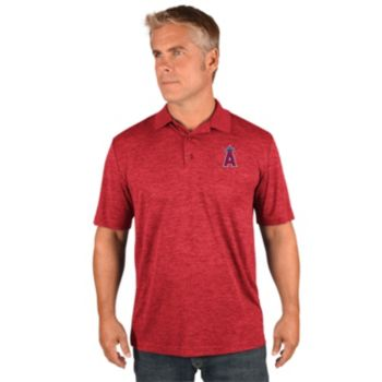 Men's Majestic Los Angeles Angels of Anaheim Hit First Polo