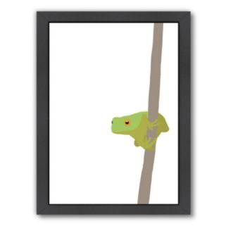 "Americanflat ""Frog"" Framed Wall Art"