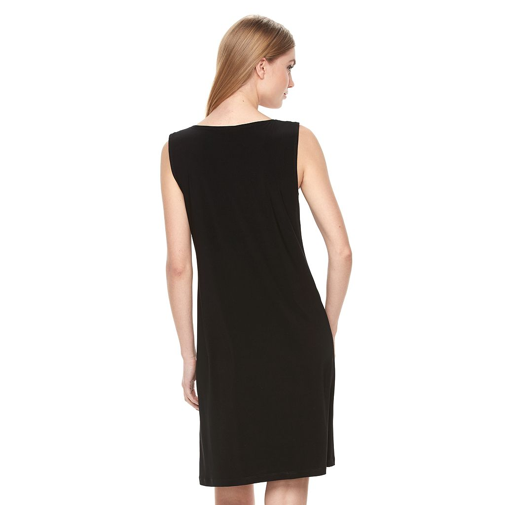 Women's MSK Zipper Shift Dress