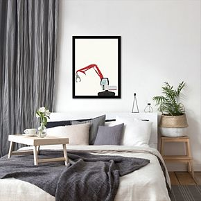 """Americanflat """"The Claw"""" Framed Wall Art"""