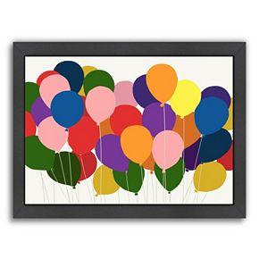 "Americanflat ""Balloons"" Framed Wall Art"