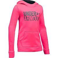 Girls 7-16 Under Armour Favorite Fleece Wordmark Hoodie